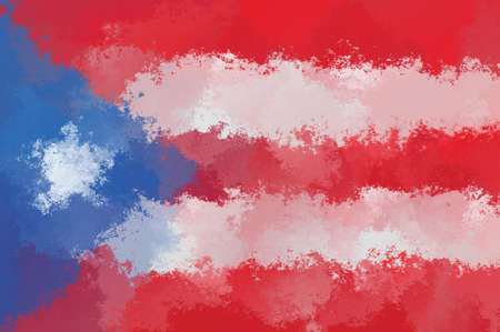 costa: Costa Rica flag - grunge design pattern