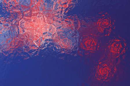 new zealand flag: New Zealand flag - triangular polygonal pattern of crumpled shiny metal surface
