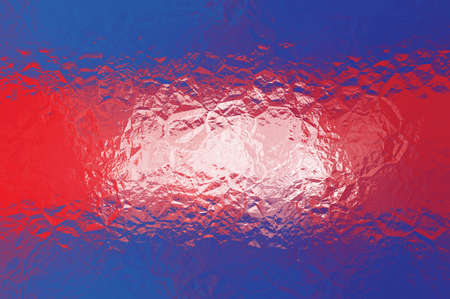 Cambodian flag - triangular polygonal pattern of crumpled shiny metal surface