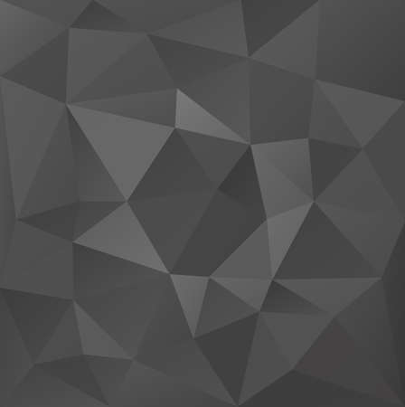 graphite: Abstract polygonal vector background in graphite style