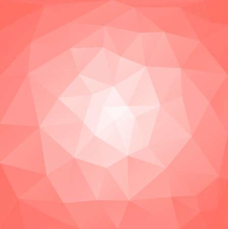 forme geometrique: Résumé polygonale vecteur de fond en couleur rose Illustration
