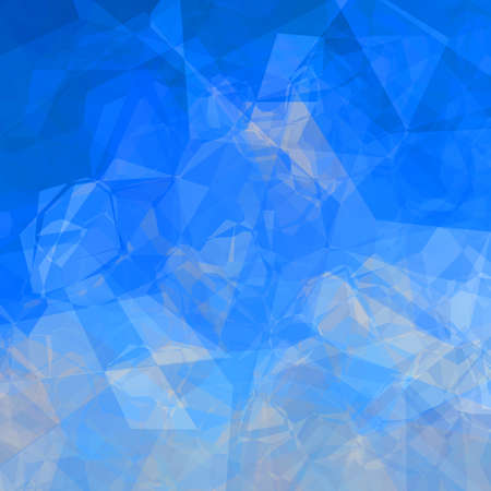lookalike: Colorful triangular background in blue colors sky lookalike