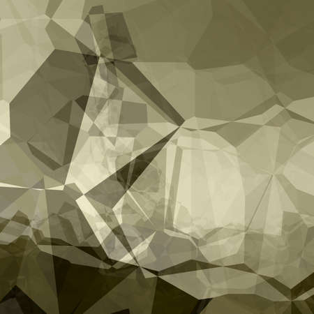 sepia toning: Triangular background in sepia colors with dark-green toning Stock Photo