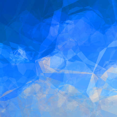 lookalike: Colorful triangular background in blue and white colors sky lookalike