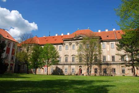 Czech gothic monastery in Plasy,Czech republic