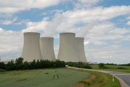 temelin: Nuclear power plant towers, a symbol of energy solution?