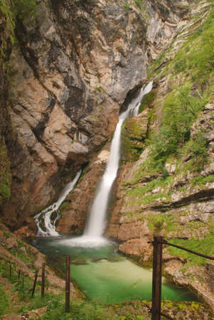 slap: Waterfall Slap Savica - Bohinj Slovenia - Julian Alps