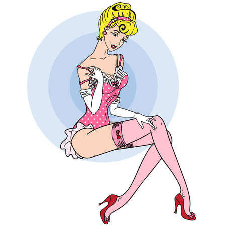 sexy classic pin up girl