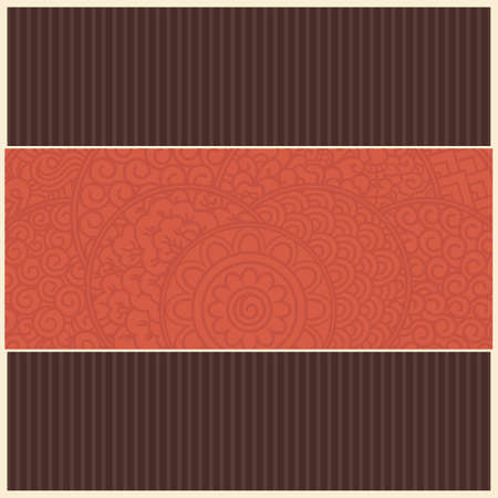broun: retro card template