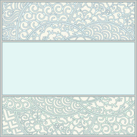 template in art-nouveau style