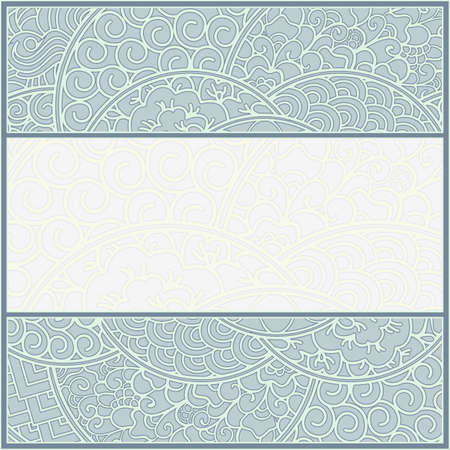 artnouveau: card or frame template, art-nouveau style