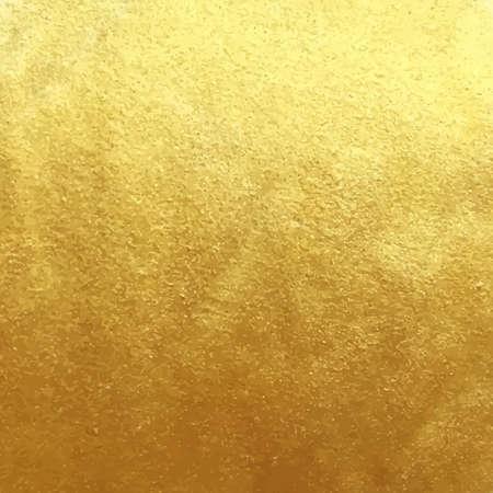 plantilla de hoja de oro de fondo para las tarjetas, dibujado a mano telón de fondo - invitaciones, carteles, tarjetas. Ilustración de vector