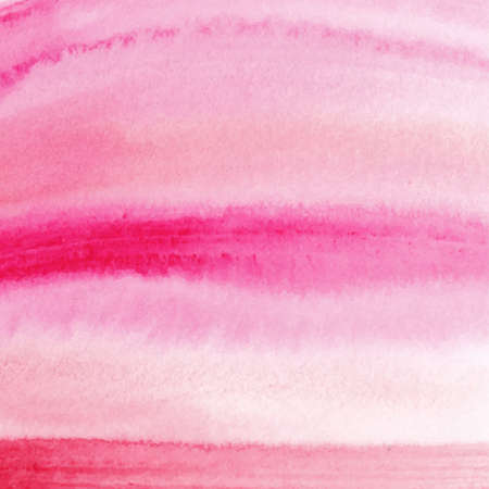 wet paint: Vector hand drawn watercolor pink background brush stroke - invitations, posters, cards template - pink and peach wet paint backdrop.