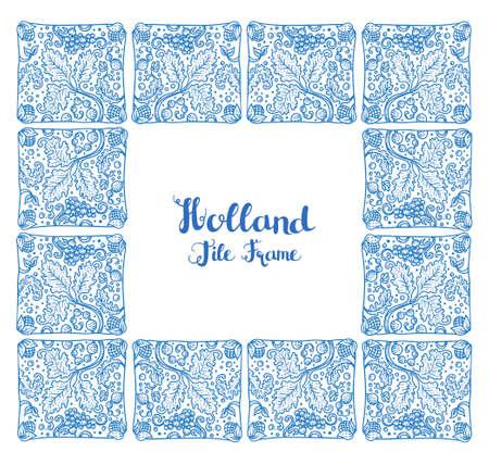 Holland tile frame