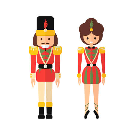 Nutcracker illustration. Illustration