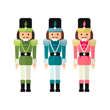 Christmas nutcracker illustration.