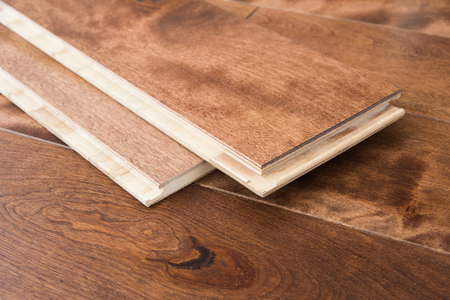 Wooden flooring parquet boards click locking