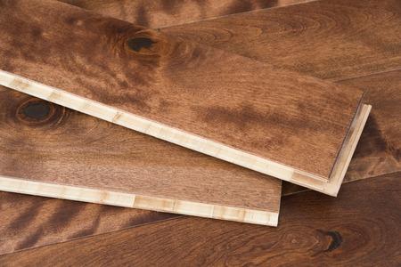 Parquet en bois naturel planches avec joint de verrouillage