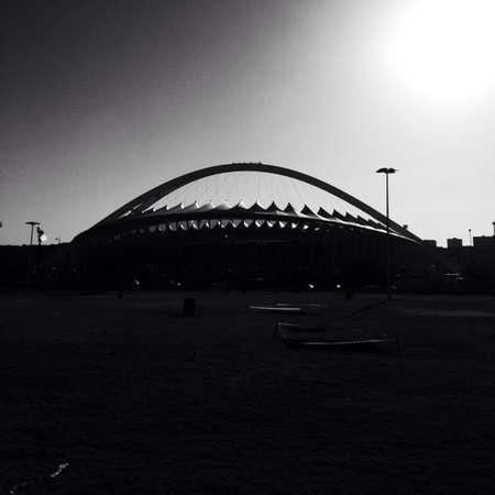 mabhida: Moses Mabhida stadium Stock Photo