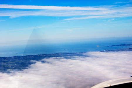 Arial Loire view, Atlantic ocean