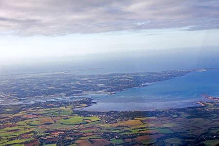 atlantic marsh and ocean view