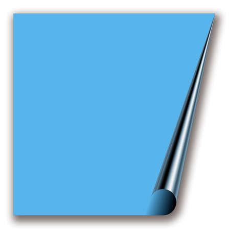 folio: blue notepaper