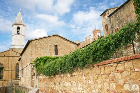 Duomo in Pienza Italy photo