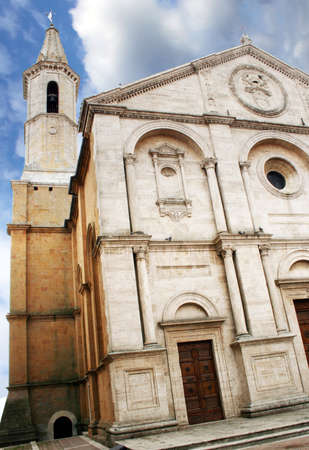 Pienza, Italy  Cathedral of the Assumption, Piazza Pio II photo