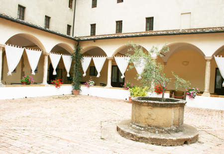 Pienza in Italy photo
