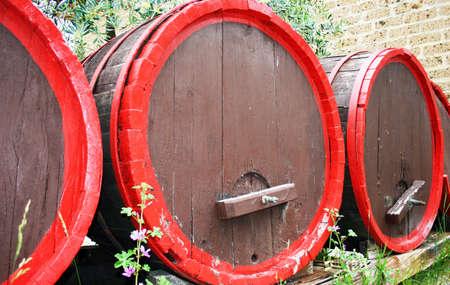 agriturismo: vine barrels