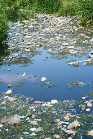Water pollution photo