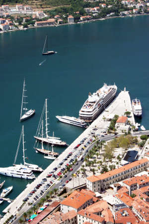 Harbour of Kotor in Montenegro photo