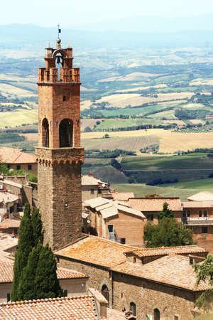 Montalcino in Italy