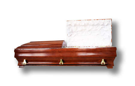 morbid: Luxury coffin