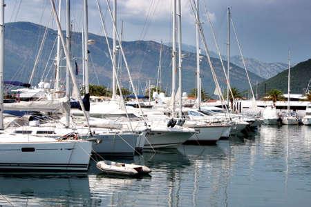 Porto Montenegro Stock Photo