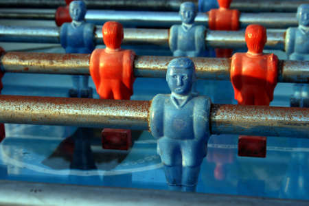 foosball: Foosball game Stock Photo