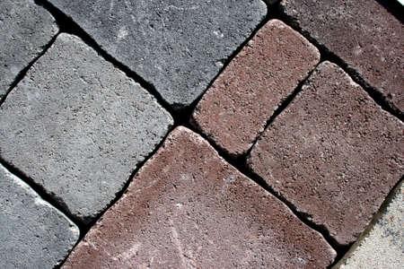 Granular decorative pavement