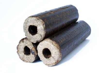 Biomass compressed briquettes optimized for multi fuel stoves