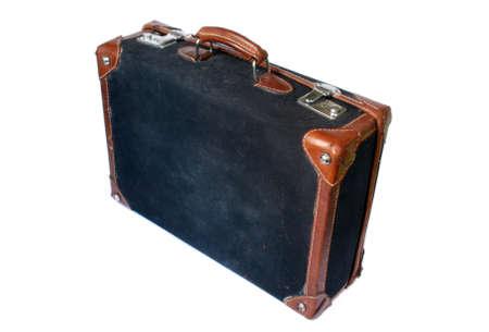 Old retro styled suitcase