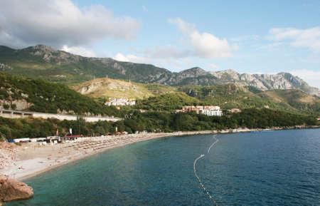 Detail from Rafailovici in Montenegro Stock Photo