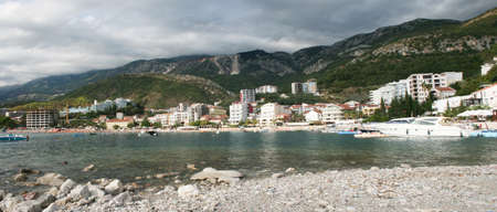 Detail from Rafailovici in Montenegro Standard-Bild