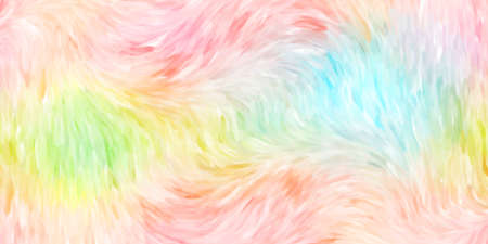 Closeup of colorful watercolor hand-painted art illustration : abstract art background (High-resolution 2D CG illustration) Stock Photo