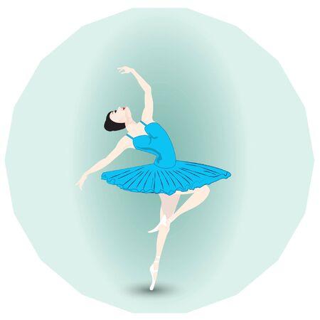 ballerina 矢量图像