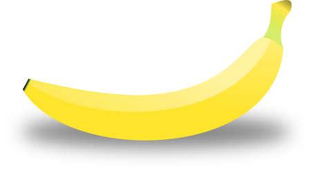crooked: Banana Illustration