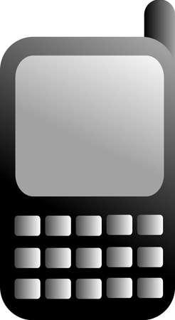 black GSM icon