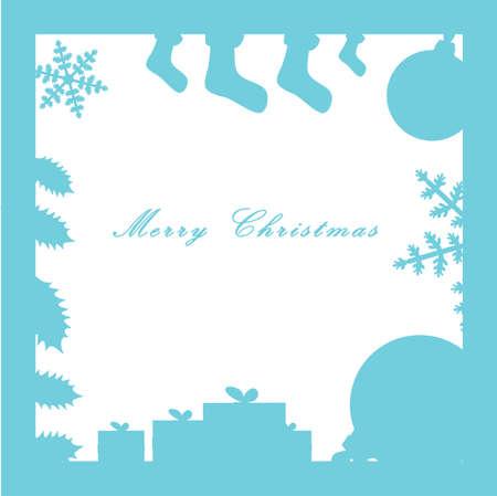 Christmas Composition Illustration