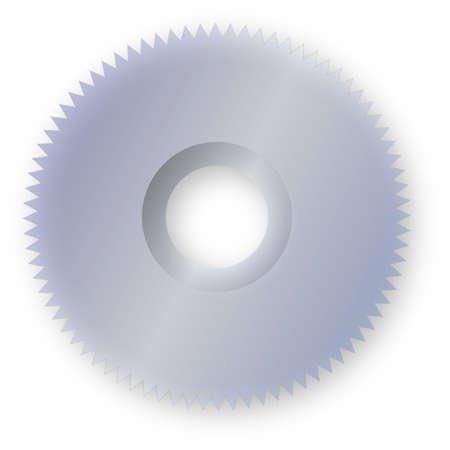 Saw Blade Illustration