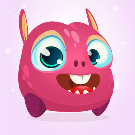 Cute cartoon monster. Vector character 向量圖像