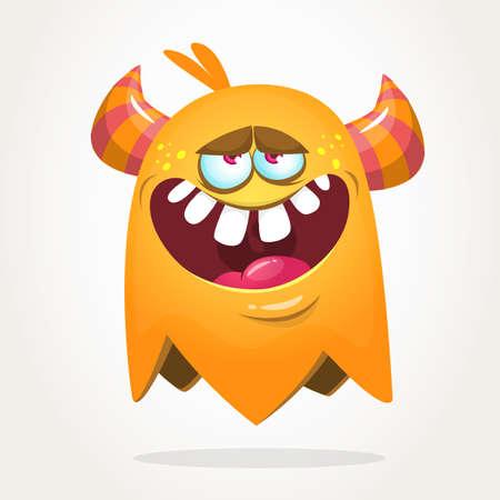 Funny monster character. Halloween monster vector illustration