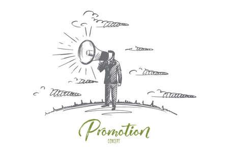 Promotion concept vector illustration